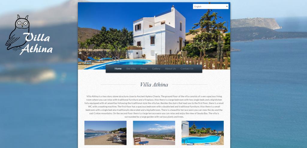 Villa Athina Chania